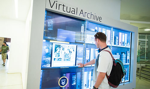 Virtual archive at Manchester Central Library